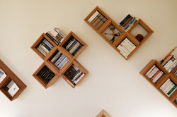 wall bookshelves