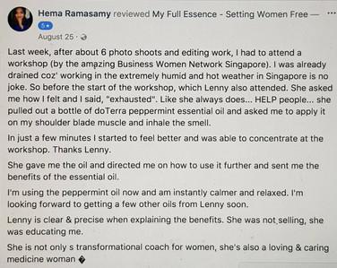 Hema from Singapore