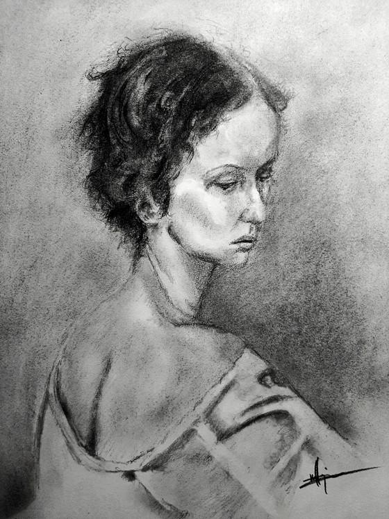 Charcoal Portrait 11x16