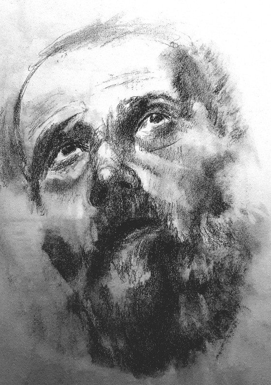 Quick Charcoal Sketch
