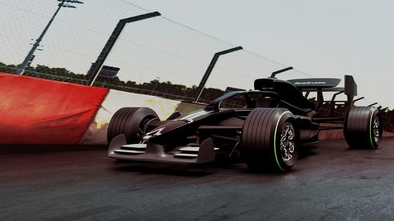 Racer on Track