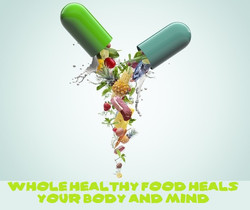 If you want to get healthy eat healthy foods drink healthy drinks.