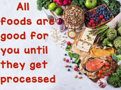 all foods are good for you until they get processed