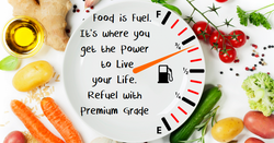 Food is fuel its where you get your energy to live your life