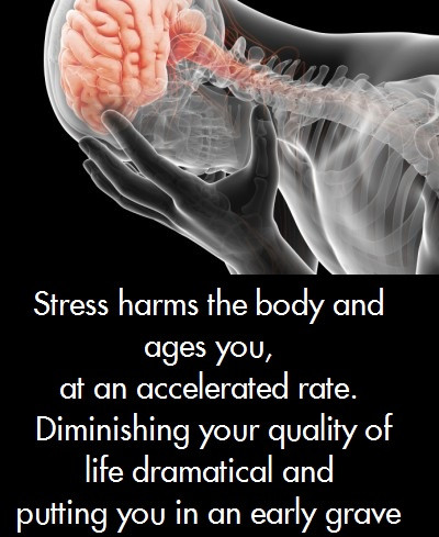 Control how you react to stress.   Reduce your stress.