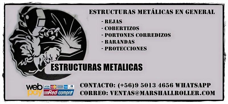 Estucturas metalicas en general