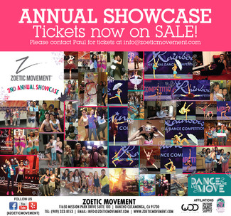 ANNUAL SHOWCASE: Tickets now on SALE!