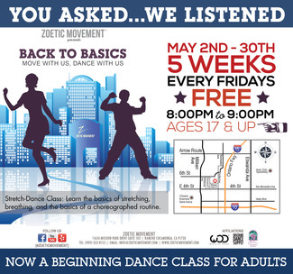 BACK TO BASICS: Move with Us, Dance with Us
