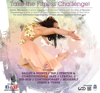 Take the Fitness Challenge!