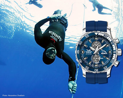 Sakkas_Vostok_anniversery Big Blue Watch