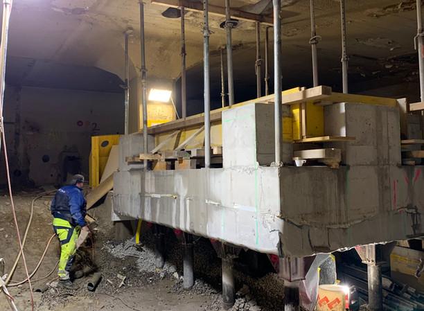 Baustelle St.Gallen Unterer Graben 25n 25