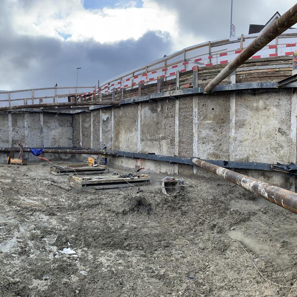 Baugrubensicherung Thalwil 2020