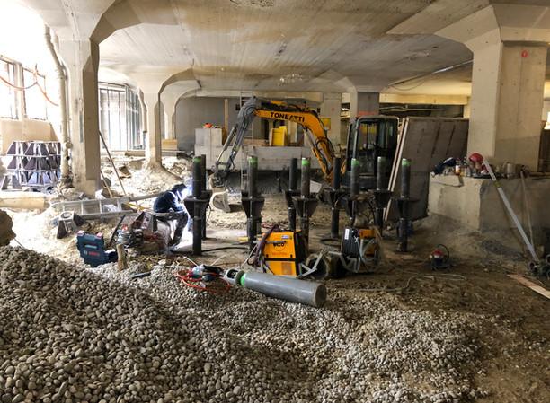Baustelle St.Gallen Unterer Graben 25
