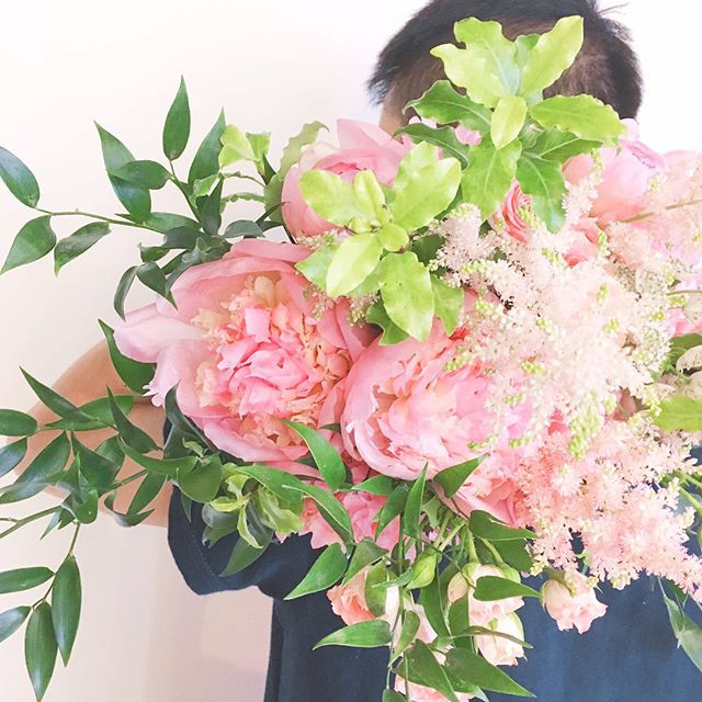 Check out our wedding bouquet!!! Flower