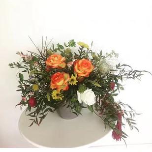 Get some fall arrangement before winter