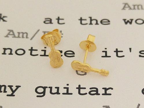 עגילי גיטרה