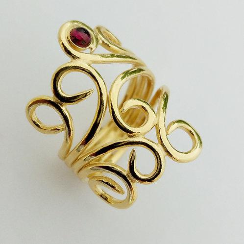 טבעת גפן גולדפילד ושיבוץ