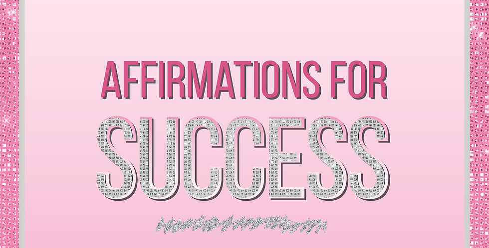 Affirmations for Success Ebook