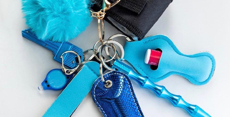 Feelin' Blue Keychain