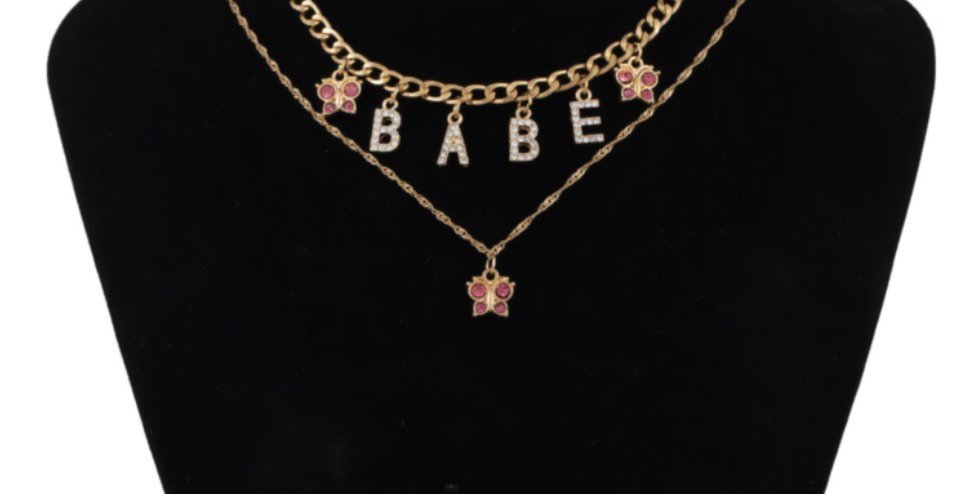 Babe Necklace (2 Pieces)