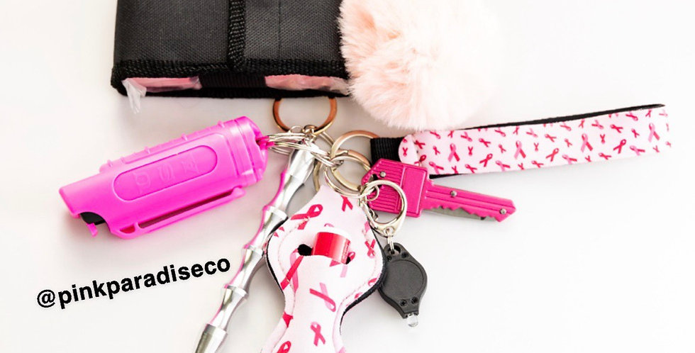 Pink Special Breast Cancer Addition- Keychain