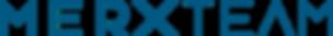 blå merxteam logga