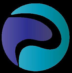 blå och lila promosoft logga