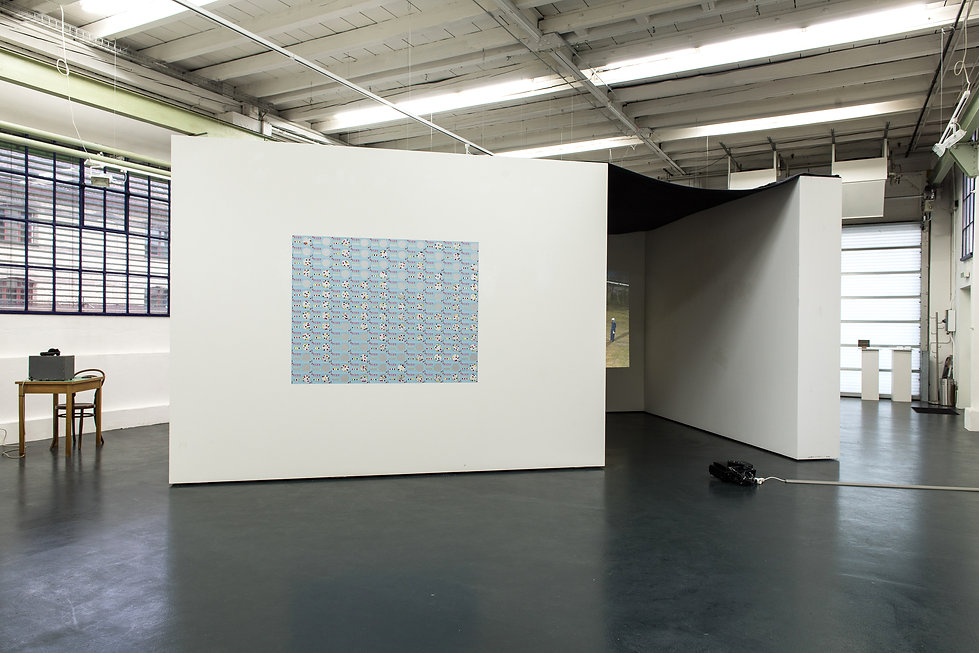 its time, time,installation, scratch cards, alarm clock, silkscreen, mia diener