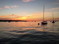 Evening sail at Seaview
