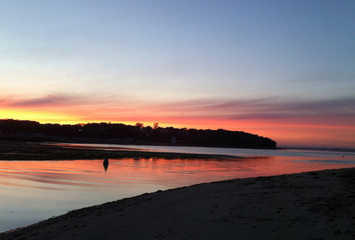 Bembridge Harbour sunset