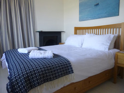 Main bedroom, king size bed