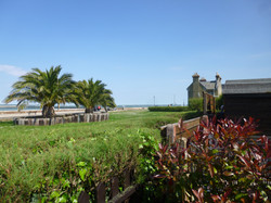 View from Coastguard Cottage