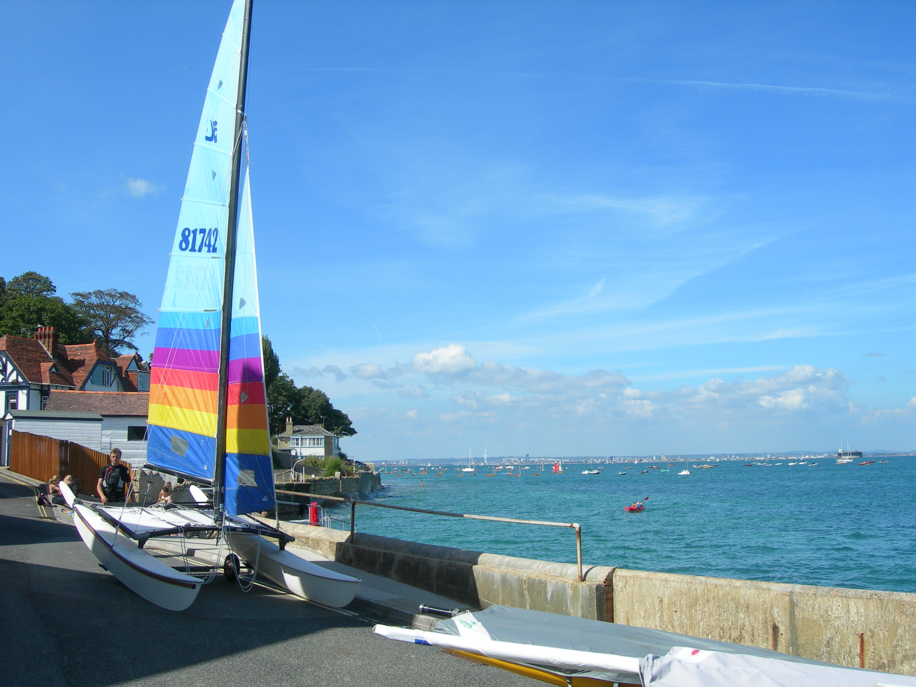 Sailing at Seaview
