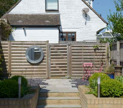 Renown Cottage back garden