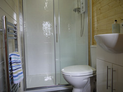 Shower room at the Lodge