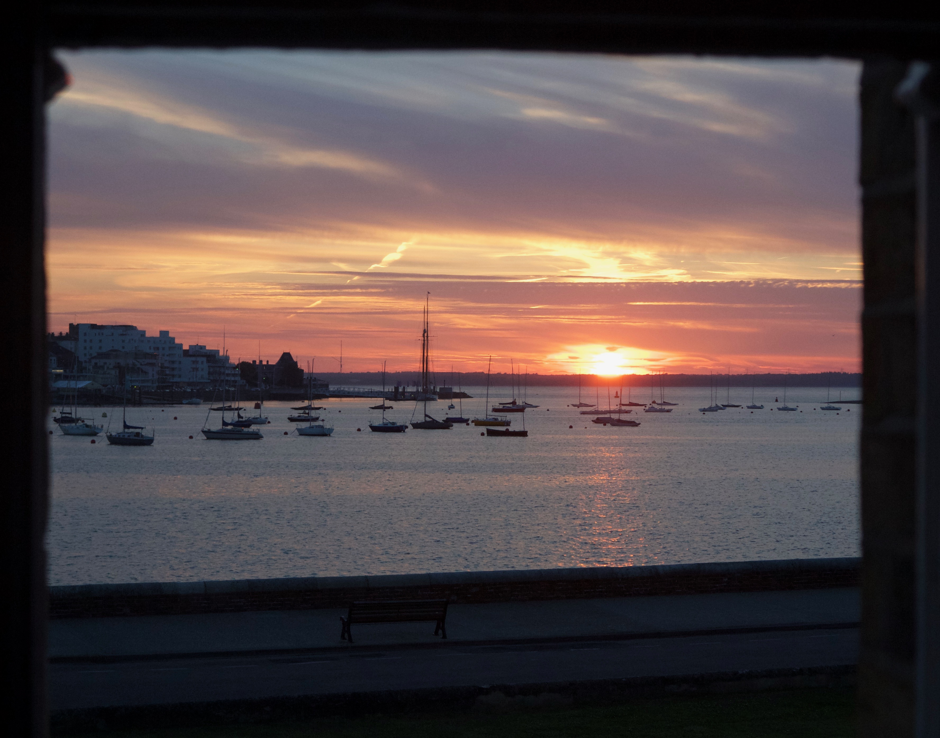 Sunset at Cowes