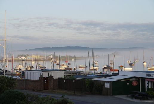 Bembridge Harbour morning mist
