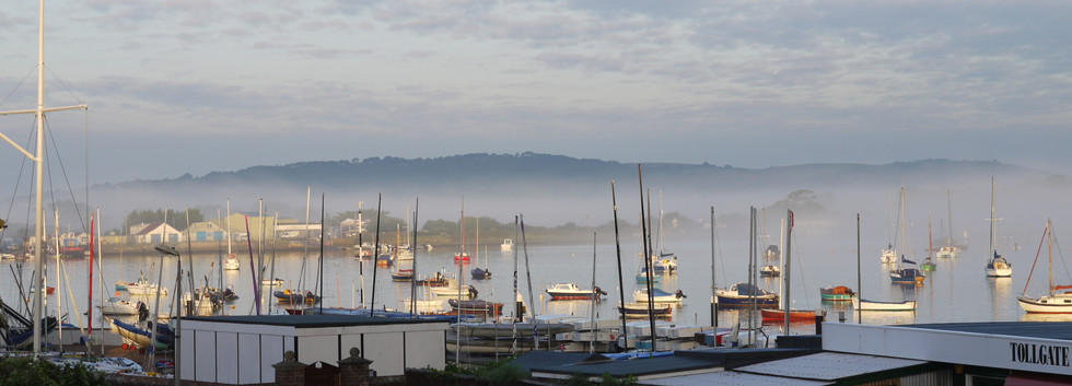 Bembridge Harbour morning mist