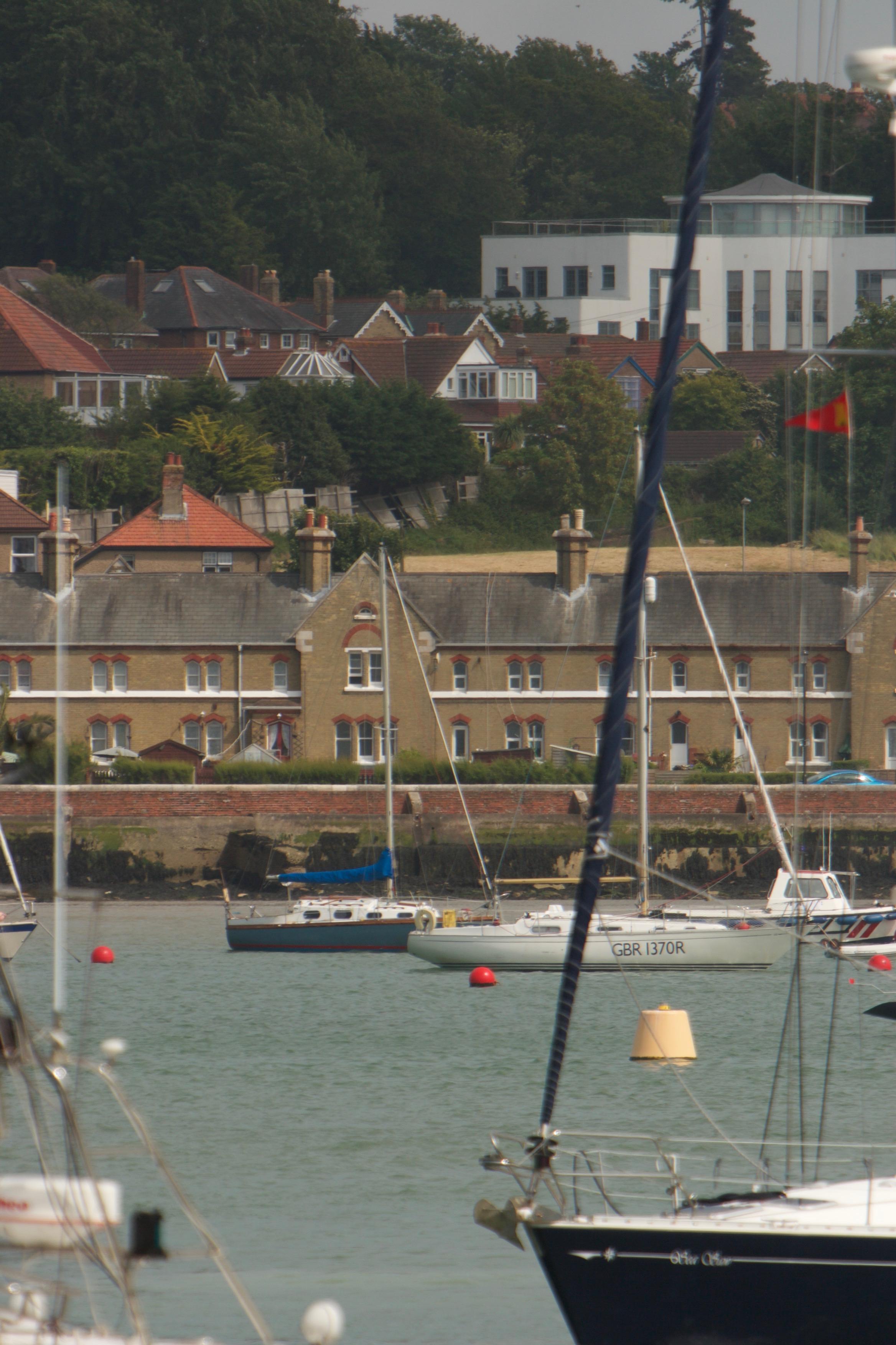 Coastguard Cottage from the sea