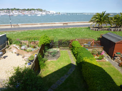 Garden with view of harbour