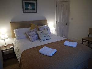 Midships, with king sized double bed