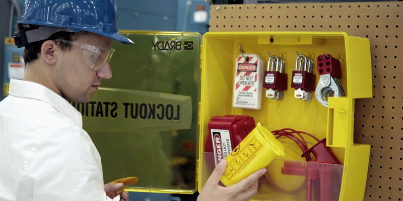 Lockout Tagout_station