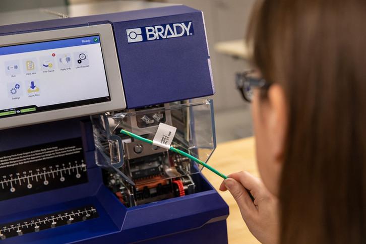 BradyPrinter A5500 application