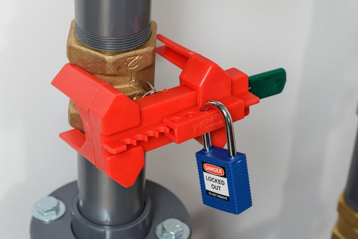 Zaklep krogelnega ventila