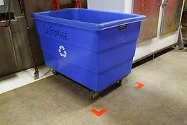 Odredite boju za skladištenje materijala, koji nije namenjen proizvodnji.
