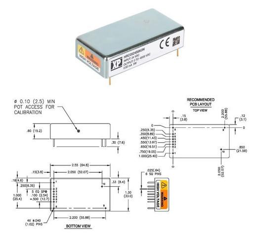 XP Power DC-DC converter HRC05