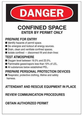 Kako preprečiti tveganja v utesnjenih prostorih