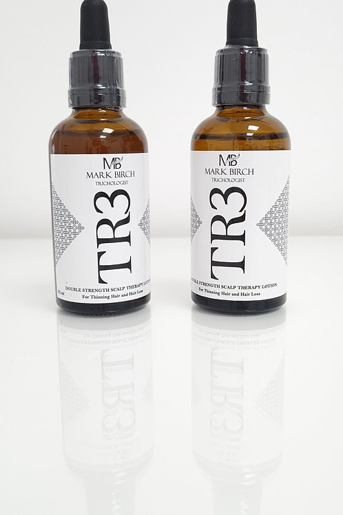 X2 - TR3 Double Strength Scalp Therapy Lotion - for Thinning Hair and Hair Loss