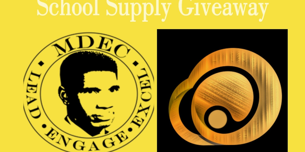 Medgar Evers Back to School Supply Give-Away