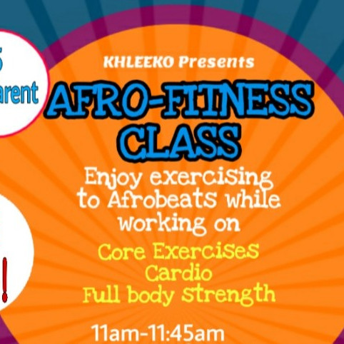 AFRO-FITNESS CLASS